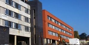 Lodelinsart - Participation à la construction du gros-oeuvre du nouveau CHU
